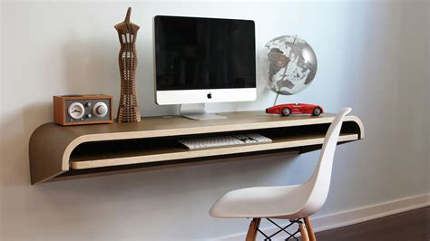 Work Desk by Why Wall Mounted Desks Are For Small Spaces
