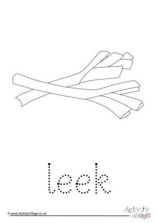 leek finger tracing