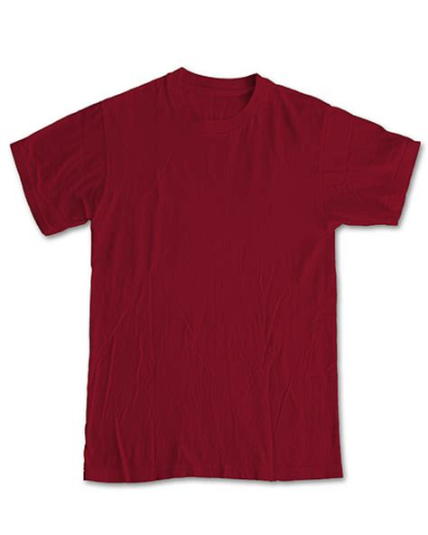tshirt basic template new blank front maroon use for threadless submissions