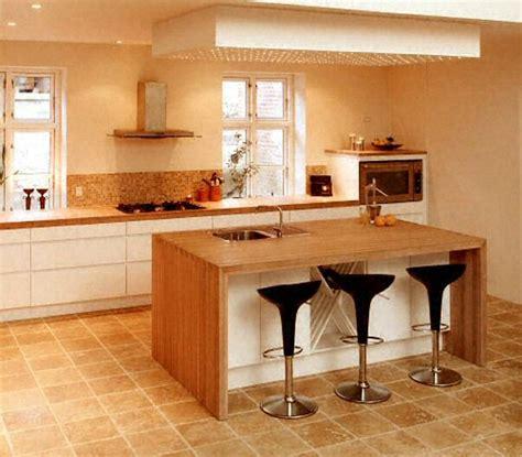 plan de cuisine bois ilot cuisine bois