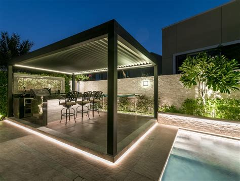 motorized waterproof awning folding louver roof system design bioclimatic garden aluminium