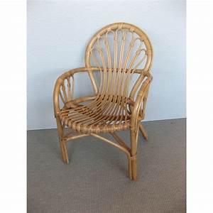 Fauteuil Rotin Enfant : fauteuil d 39 enfant en rotin winnie coloris noisette ~ Teatrodelosmanantiales.com Idées de Décoration