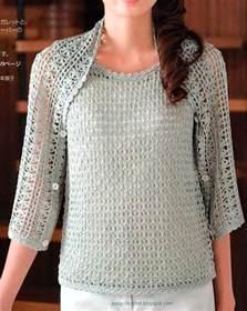 Free Easy Crochet Pattern Shrug Bolero
