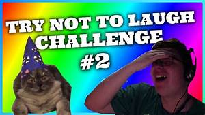 TRY NOT TO LAUGH *REALLY HARD* CHALLENGE!! #2 - YouTube