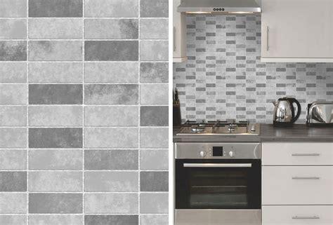 Grey Stone Tile Effect Expanded Vinyl Kitchen Bathroom