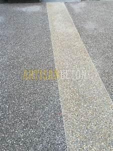 Béton Désactivé Gris : projets en b ton d sactiv gris noir photos artisan beton ~ Melissatoandfro.com Idées de Décoration