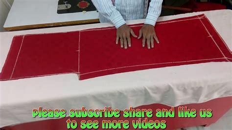 #46 Ep Simple Plazo Ki Cutting In Hindi Youtube
