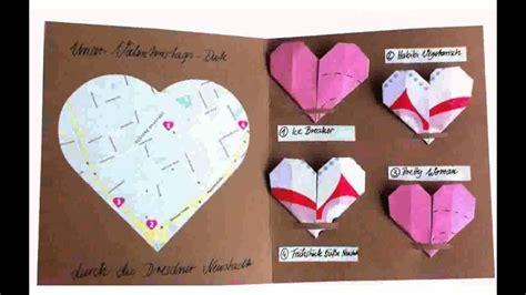 basteln zum valentinstag basteln valentinstag ideen