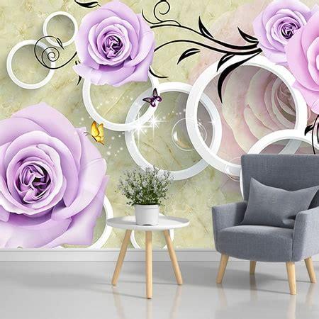 Фотообої Бузкові троянди купити на стіну • Еко Шпалери