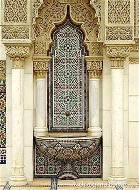 moroccan architecture stock photography image