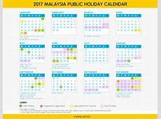 Calendar 2017 Malaysia monthly calendar 2017