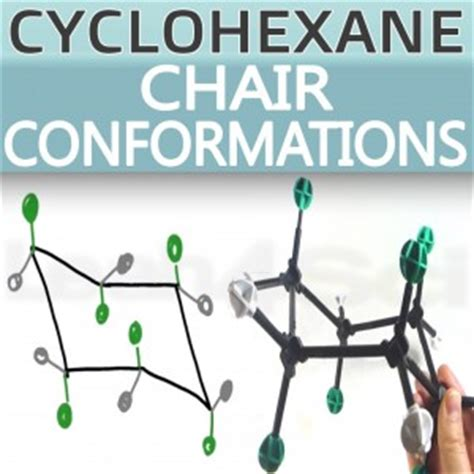 Cyclohexane Chair Conformation Model Kit by Cyclohexane Chair Conformations And Ring Flips