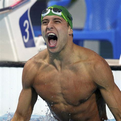 south african chad le clos fires rio warning  phelps