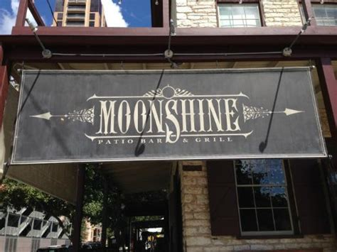 Moonshine Patio Bar Grill by Moonshine Restaurant Board Picture Of Moonshine Patio