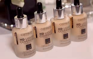 First Impressions – Catrice HD Liquid Coverage Foundation