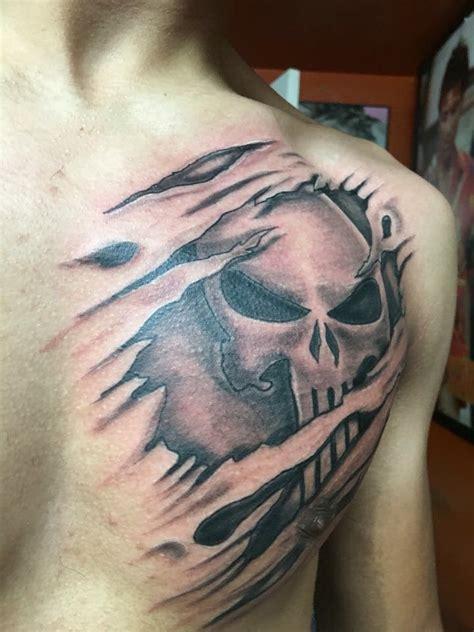 tattoo punisher tattoo   tattoos