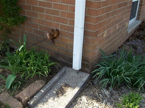 Installing Downspout Drain Lines  Ask The Builder