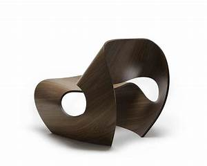 Stylish Chair Design Inspired by the Concave Lines of Sea ...