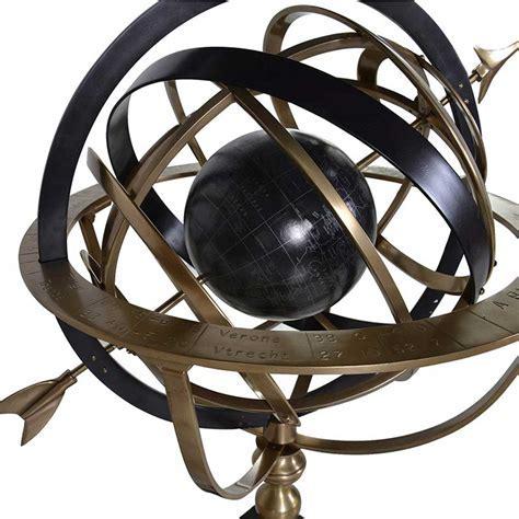 Bronze armillary globe   Handmade kitchens in Norwich