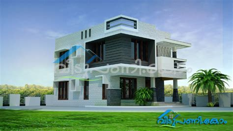 Three Bedroom kerala contemporary House plan in 2 cent