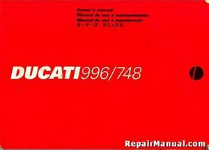 Used 1999 Ducati 996 And 748 Motorcycle Owners Manual