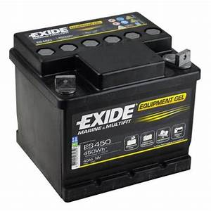 Batterie Exide Gel : exide leisure battery equipment gel es450 low cost batteries online ~ Medecine-chirurgie-esthetiques.com Avis de Voitures