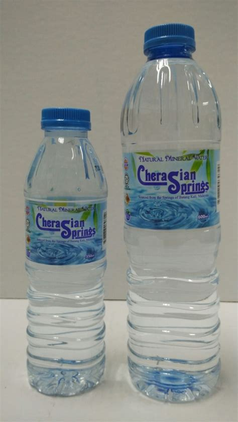 Clean, Fresh Mineral Water From Malaysia  600ml And 350ml
