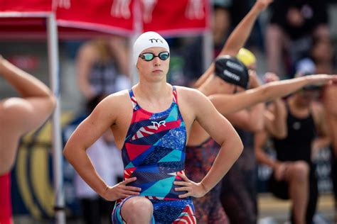Not when katie ledecky is racing the clock. Katie Ledecky Starts Off Pan Pacs With 800 Free Gold ...