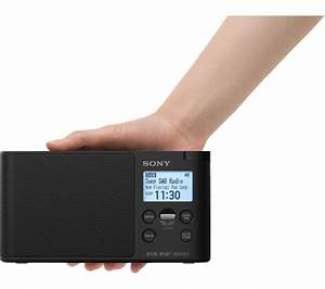Dab Radio Baustelle : buy sony xdr s41d portable dab fm clock radio black ~ Jslefanu.com Haus und Dekorationen