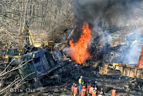 Train Crash And Derailment In Porter