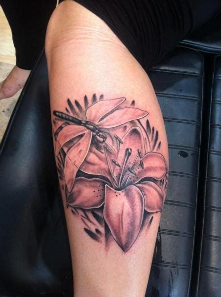 lily flowers tattoos collection