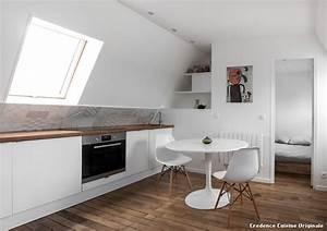 credence cuisine originale with contemporain cuisine With idee de credence cuisine