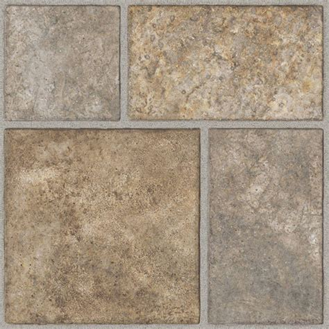 home depot flooring vinyl tile trafficmaster take home sle allure yukon tan resilient vinyl tile flooring 4 in x 4 in