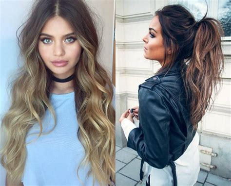 Hairstyles Brown With Highlights by Hypnotizing Brown Hair With Highlights Hairdrome