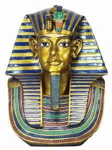 LARGE EGYPTIAN PHARAOH KING TUT BUST STATUE DETAILED ...  Egyptian