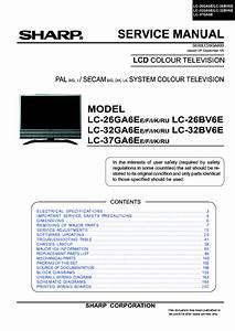 Sharp Lcd Tv Lc