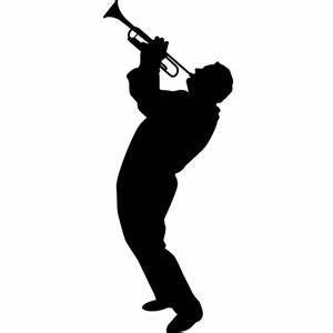 Trumpet Player SILHOUETTES (Wall Decor) Trumpet Player ...