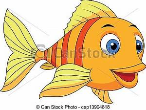Cute Cartoon Fish Clipart