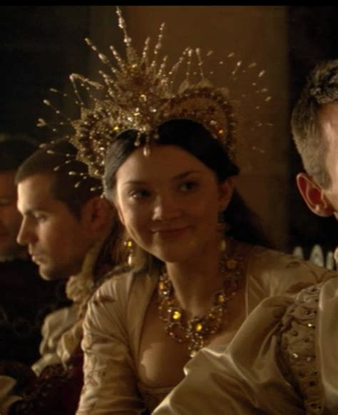 Natalie Dormer The Tudor by The Tudors Natalie Dormer As Boleyn Hairdress