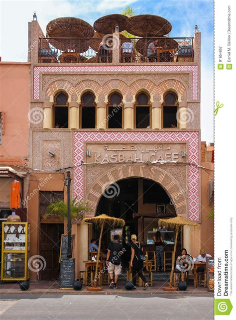 Friends (mostly male) sit outside for hours sipping their arabic coffee as they exchange stories and. Kasbah Cafe. Marrakesh . Morocco Editorial Photography - Image of exterior, islamic: 91654857