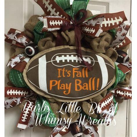 Football Wreath Decorations - 17 best ideas about football decor on football
