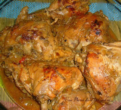 recette de cuisine antillaise facile fricassée de poulet à l 39 antillaise une plume dans la cuisine