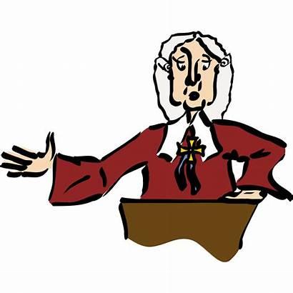 Judge Cartoon Clipart Transparent Background Lawyer Law
