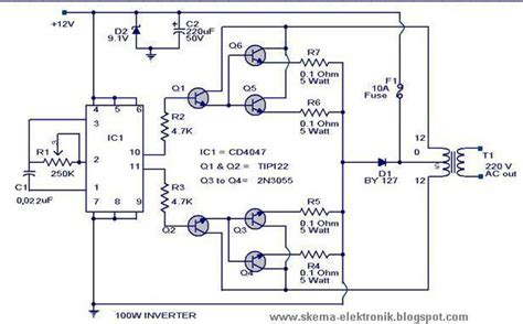 Power Inverter Schematic Design