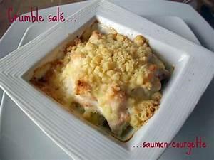 Recette Crumble Salé : recette de crumble sal saumon courgette ~ Melissatoandfro.com Idées de Décoration