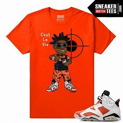 Kodak Gatorade Orange Travis Scott Shirt Flame
