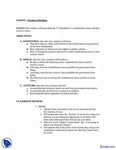 Freedom of Religion - Individual Rights - Lecture Notes ...