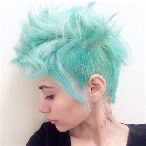 25 Best Ideas About Short Punk Hairstyles On Pinterest