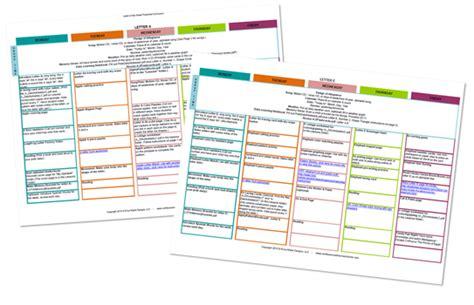 daily homeschool schedule preschool confessions of a 120 | LOTW sampleplans1