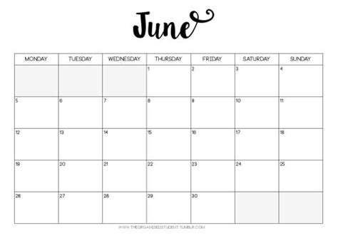 drive calendar template 2017 free printables the organised student